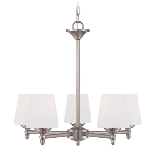 Designers Fountain Lighting Designers Fountain Darcy Brushed Nickel Chandelier 15006-5-35