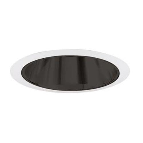 Juno Lighting Group Black Alzak Cone for 6-Inch Recessed Housing 247S BWH