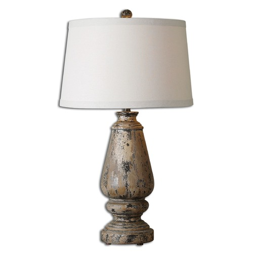 Uttermost Lighting Uttermost Doria Aged Wood Table Lamp 27743