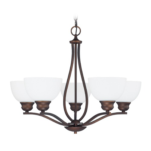 Capital Lighting Capital Lighting Stanton Burnished Bronze Chandelier 4035BB-212
