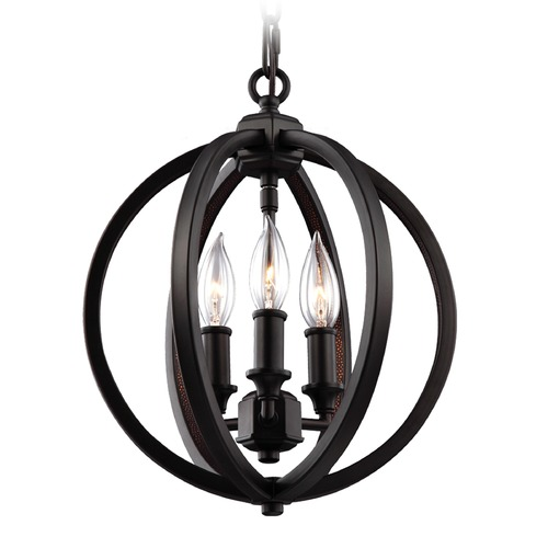 Feiss Lighting Feiss Lighting Corinne Oil Rubbed Bronze Pendant Light F3059/3ORB