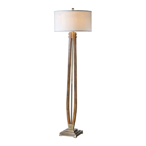 Uttermost Lighting Uttermost Boydton Burnished Wood Floor Lamp 28105