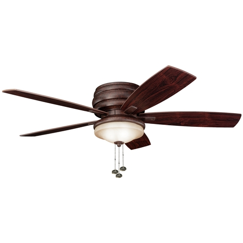 Kichler Lighting Kichler Ceiling Fan with Light Kit in Bronze Finish 300119TZ