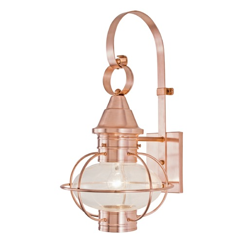 Norwell Lighting Norwell Lighting Vidalia Onion Sienna Outdoor Wall Light 1612-SI-CL