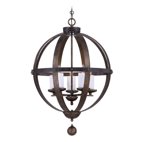 Savoy House Savoy House Reclaimed Wood Pendant Light 7-9534-5-196
