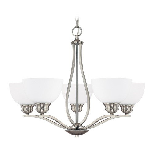Capital Lighting Capital Lighting Stanton Brushed Nickel Chandelier 4035BN-212