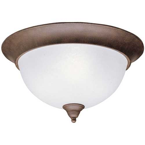 Kichler Lighting Kichler Flushmount Light in Tannery Bronze Finish 8065TZ