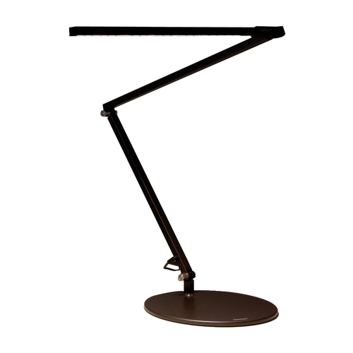 Koncept Lighting Adjustable LED Desk Lamp in Black Finish AR3000-W-MBK-DSK  GEN3