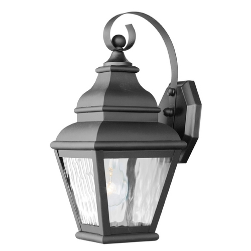 Livex Lighting Livex Lighting Exeter Black Outdoor Wall Light 2601-04