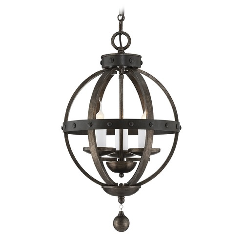 Savoy House Savoy House Reclaimed Wood Pendant Light 7-9541-3-196