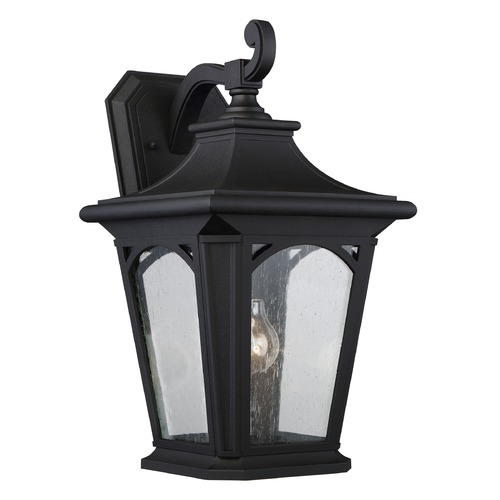 Quoizel Lighting Quoizel Bedford Mystic Black Outdoor Wall Light BFD8410K