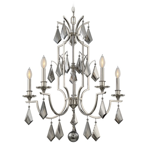 Savoy House Savoy House Lighting Ballard Polished Nickel Chandelier 1-875-5-109