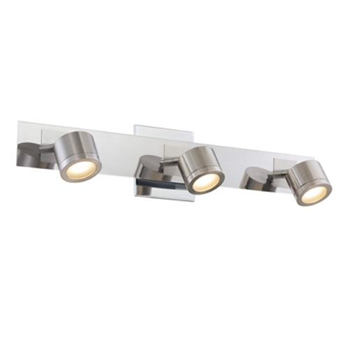 Lite Source Lighting Lite Source Michi Polished Steel LED Bathroom Light LS-16727
