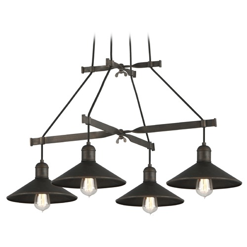Troy Lighting Troy Lighting Mccoy Vintage Bronze Chandelier F5427