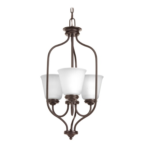 Progress Lighting Progress Lighting Keats Antique Bronze Pendant Light with Bell Shade P3887-20