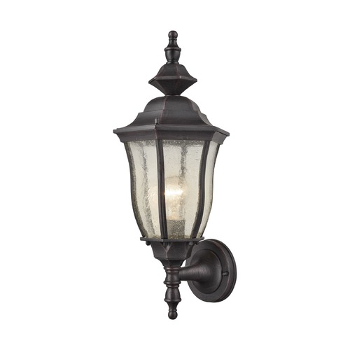 Elk Lighting Elk Lighting Bennet Graphite Black Outdoor Wall Light 87080/1