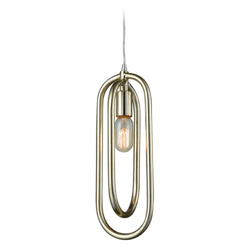 Dimond Lighting Dimond Solstice Champagne Silver Mini-Pendant Light D3130