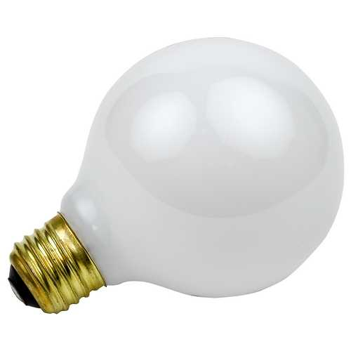 Sylvania Lighting 60-Watt G40 Light Bulb 15792