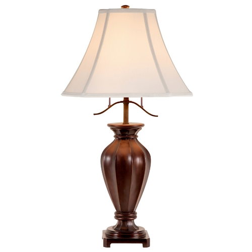 Design Classics Lighting Design Classics Beacon Hill Antique Bronze Table Lamp with Empire Shade DCL M6494-20