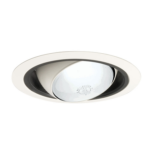 Juno Lighting Group Economy Eyeball Black Trim for 6-Inch Recessed Housing 249 BWH