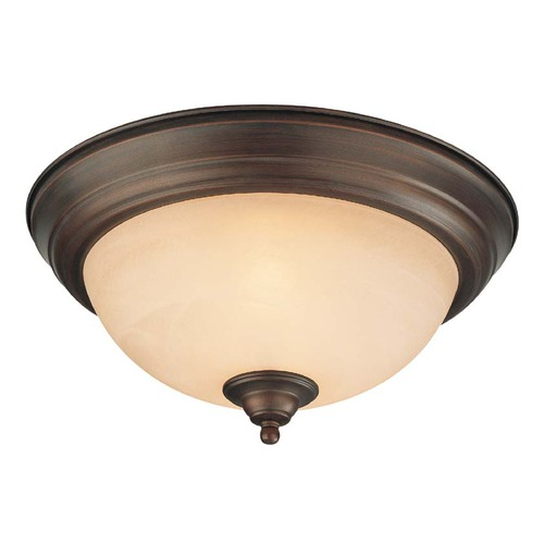 Jeremiah Lighting Jeremiah Oiled Bronze Flushmount Light 20013-OB