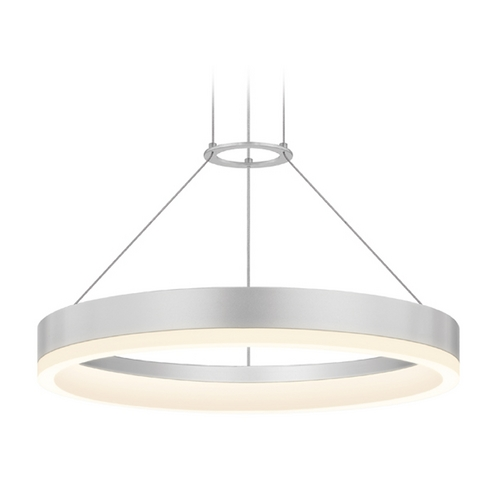 Sonneman Lighting Modern LED Pendant Light in Aluminum Finish 2313.16