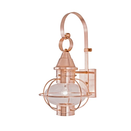 Norwell Lighting Seeded Glass Outdoor Wall Light Bronze Norwell Lighting 1612-SI-SE