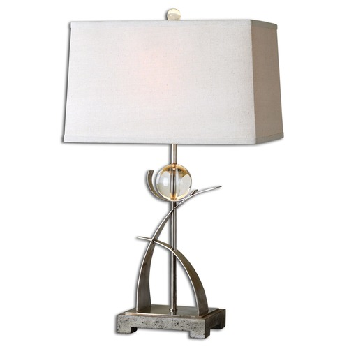 Uttermost Lighting Uttermost Cortlandt Curved Metal Table Lamp 27746