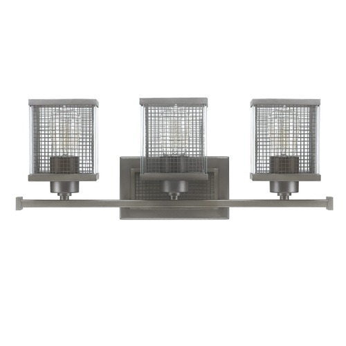 Capital Lighting Capital Lighting Carson Graphite Bathroom Light 8033GR