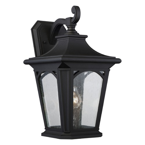 Quoizel Lighting Quoizel Bedford Mystic Black Outdoor Wall Light BFD8410KFL