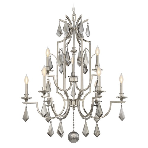 Savoy House Savoy House Lighting Ballard Polished Nickel Chandelier 1-876-9-109