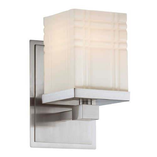 Lite Source Lighting Lite Source Polished Steel Sconce LS-16341