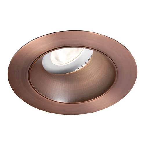 WAC Lighting WAC Lighting Round Copper Bronze 3.5-Inch LED Recessed Trim 4000K 1355LM 18 Degree HR3LEDT318PS840CB
