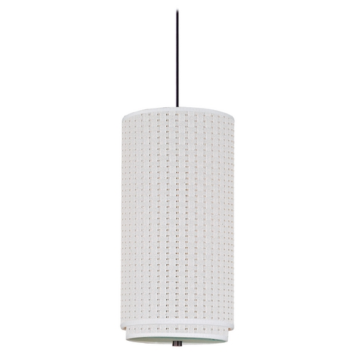 ET2 Lighting Modern Mini-Pendant Light with White Shade E95040-100OI