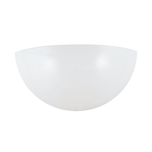 Sea Gull Lighting Modern Sconce Wall Light with White in White Finish 4138-15