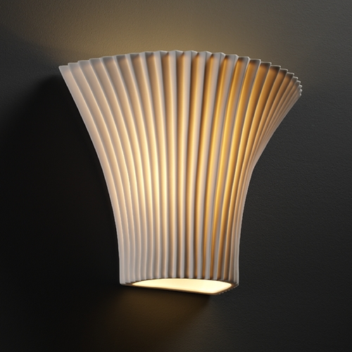 Justice Design Group Justice Design Group Limoges Collection Sconce POR-8811-PLET