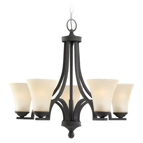 Sea Gull Lighting Sea Gull Lighting Somerton Blacksmith Chandelier 31376BLE-839