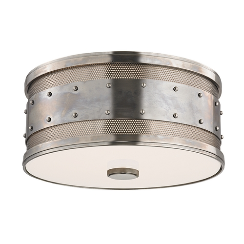 Hudson Valley Lighting Hudson Valley Lighting Gaines Historic Nickel Flushmount Light 2202-HN