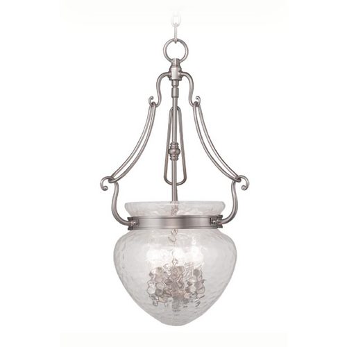 Livex Lighting Livex Lighting Duchess Brushed Nickel Pendant Light 5043-91