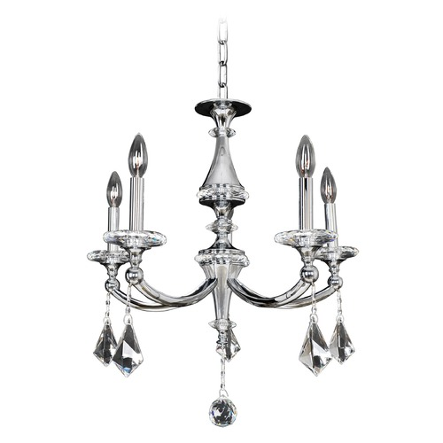Allegri Lighting Allegri Floridia 5-Light Crystal Chandelier in Polished Chrome 012170-010-FR001