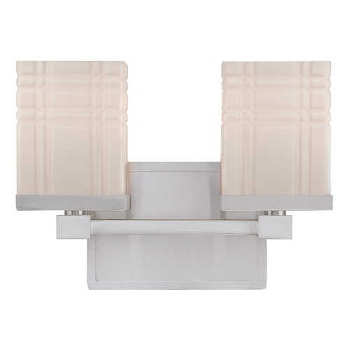Lite Source Lighting Lite Source Polished Steel Bathroom Light LS-16342