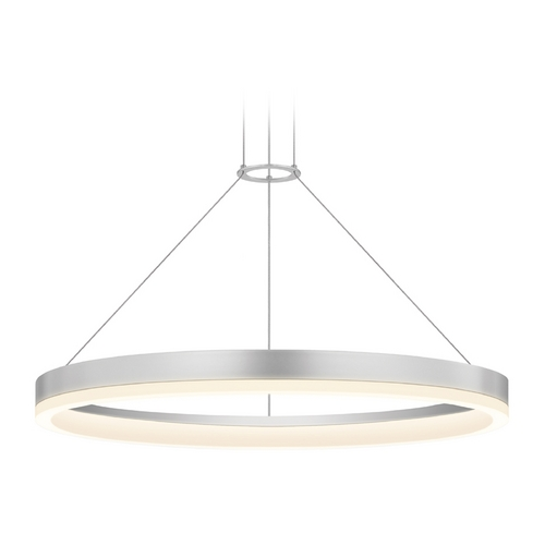 Sonneman Lighting Modern LED Pendant Light in Aluminum Finish 2315.16