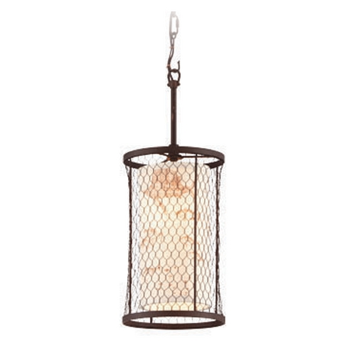 Troy Lighting Troy Lighting Catch N Release Angler Bronze Mini-Pendant Light  F4023