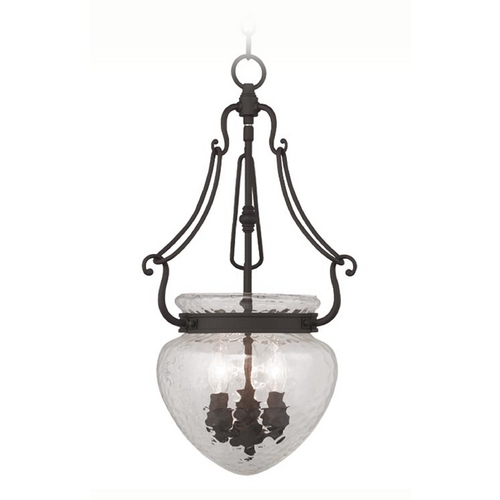 Livex Lighting Livex Lighting Duchess Bronze Pendant Light with Bowl / Dome Shade 5043-07