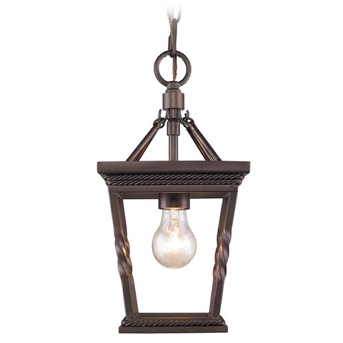Golden Lighting Golden Lighting Davenport Etruscan Bronze Mini-Pendant Light 4214-M1L EB