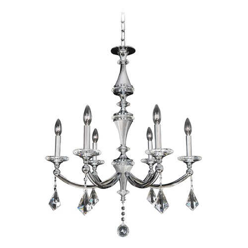 Allegri Lighting Floridia 6 Light Crystal Chandelier 012171-010-FR001