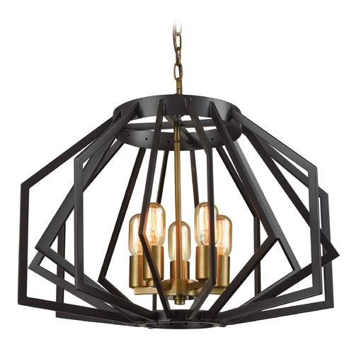 Dimond Lighting Dimond Fluxx Bronze Chandelier D3133