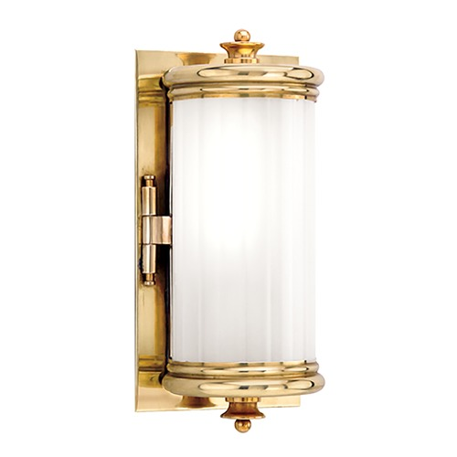 Hudson Valley Lighting Bristol Aged Brass Bathroom Light - Vertical Mounting Only 951-AGB