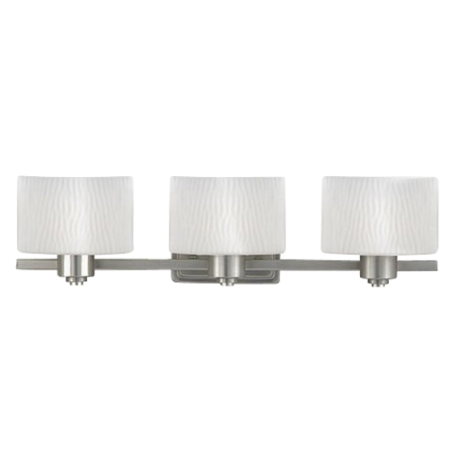 Quoizel Lighting Three-Light Bathroom Light PF8603ES