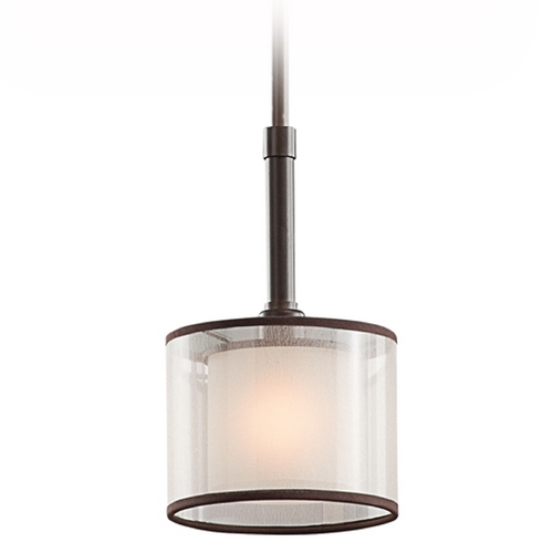 Kichler Lighting Kichler Mini-Pendant Light with White Glass 42384MIZ